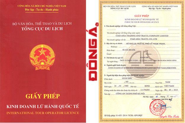 Thủ tục xin cấp giấy phép kinh doanh lữ hành nội địa