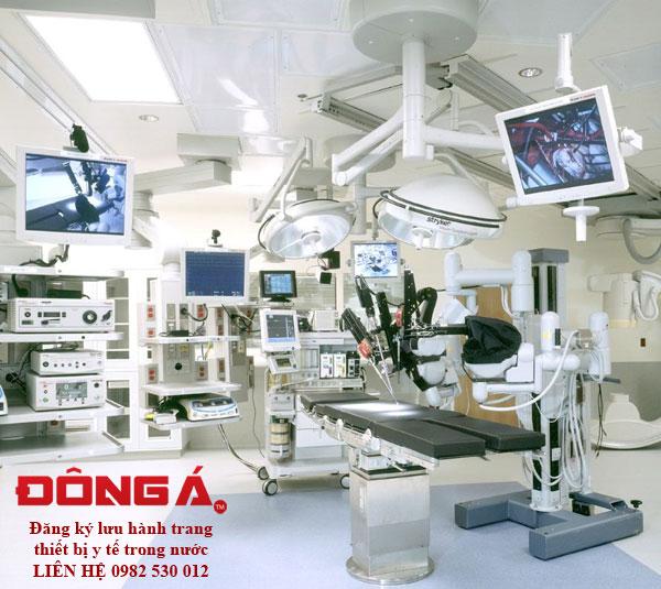 Đăng ký lưu hành sản phẩm trang thiết bị y tế sản xuất trong nước