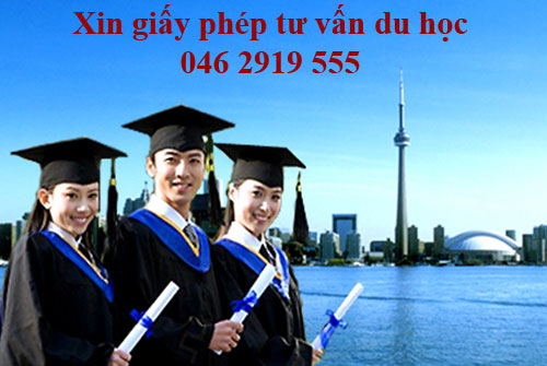 Xin giấy phép thành lập trung tâm tư vấn du học