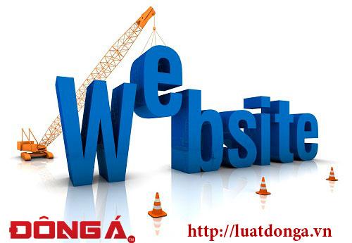 Xin giay phep website