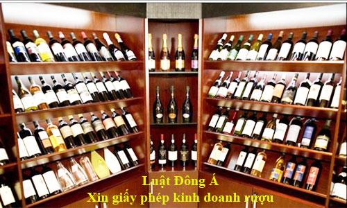 Xin giấy phép kinh doanh bán buôn sản phẩm rượu