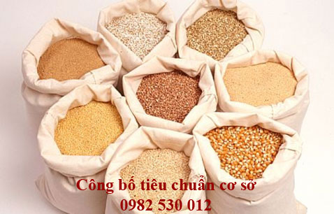 Công bố tiêu chuẩn cơ sở thức ăn chăn nuôi