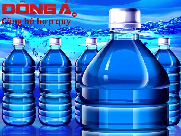Công bố hợp quy nước uống đóng chai
